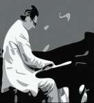 play blues piano