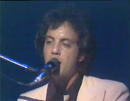 billy joel video playing piano singing just the way you are 1977