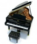 world's smallest miniature grand piano tokyo japan world's smallest miniature grand piano tokyo japan-above